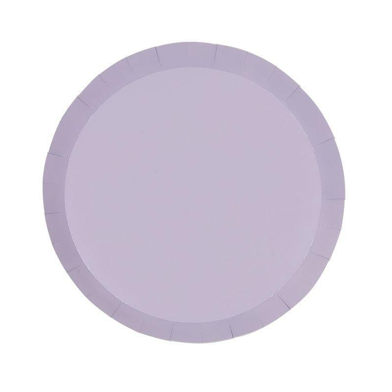 Pastel Lilac Plates - The Party Room