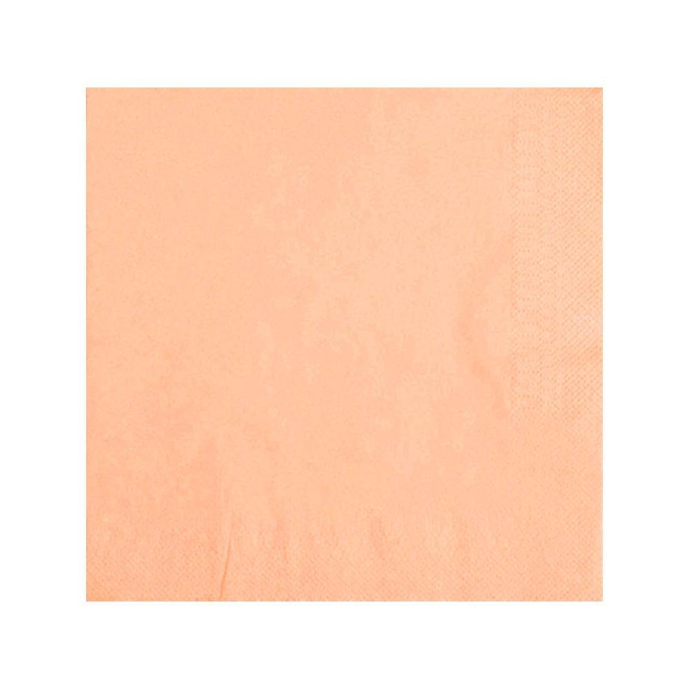 Pastel Peach Napkins - The Party Room