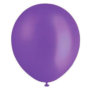 Pearl Purple Balloons (Pack of 20) - The Party Room