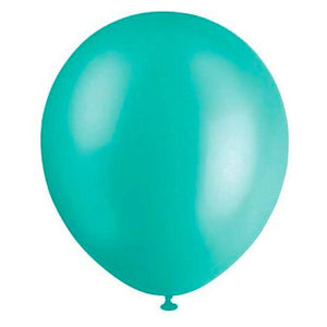Pearl Teal Balloons (Pack of 20) - The Party Room