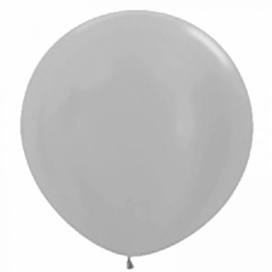 Large 90cm Pearl Silver Balloons