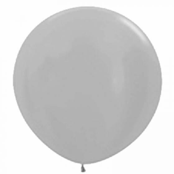 Large 60cm Pearl Silver Balloon - The Party Room