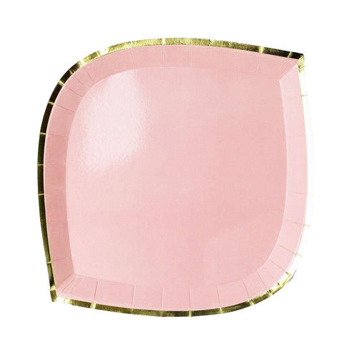 Pink Posh Dessert Plates - The Party Room