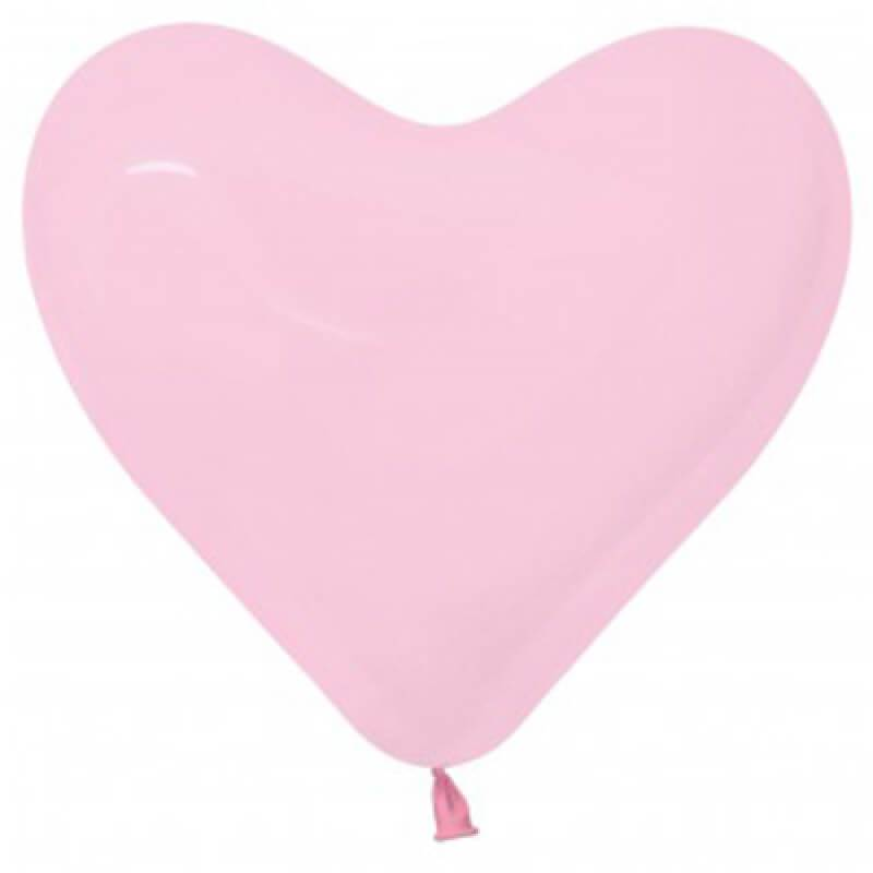 Pink Heart Balloons - The Party Room