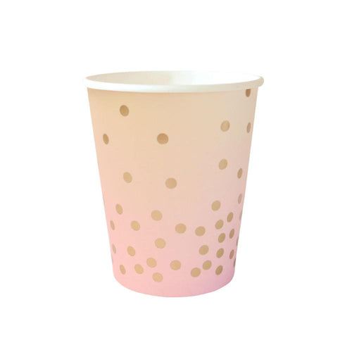Pink & Peach Cups - The Party Room