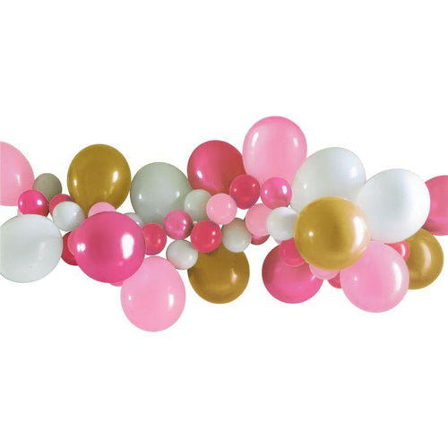 Pink Balloon Garland Kit - The Party Room