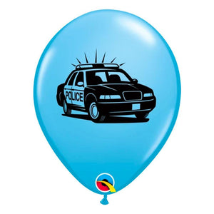 Police Car Balloons - The Party Room