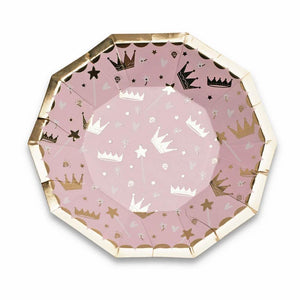 Small Princess Plates - The Party Room