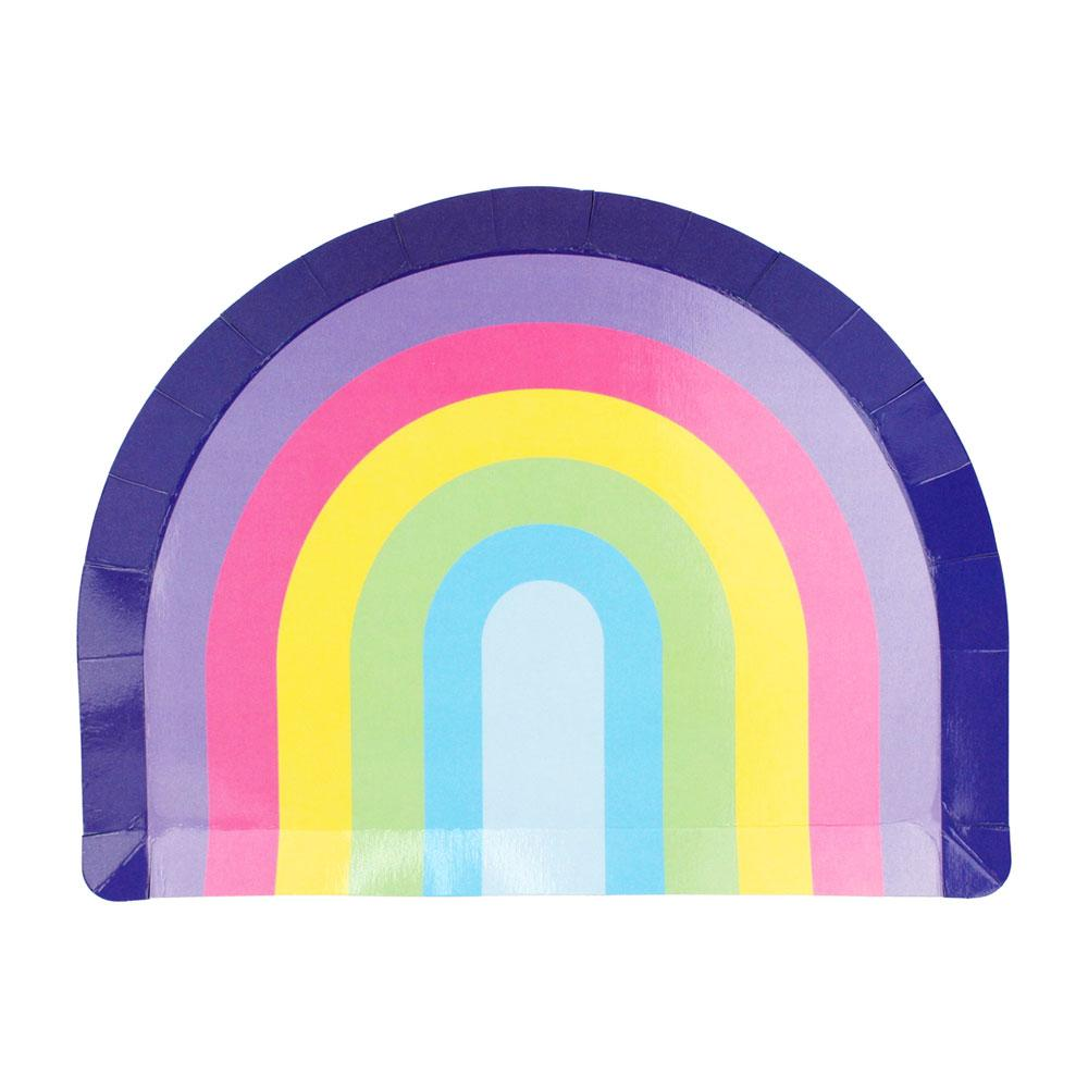 Rainbow Plates - The Party Room