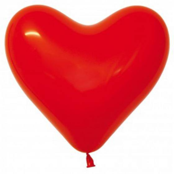 Red Heart Balloons - The Party Room