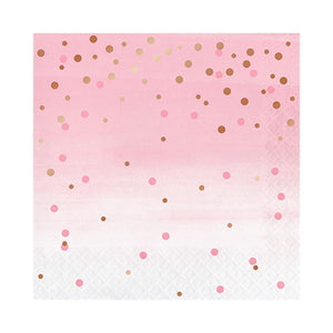 Rosé Dot Napkins - The Party Room