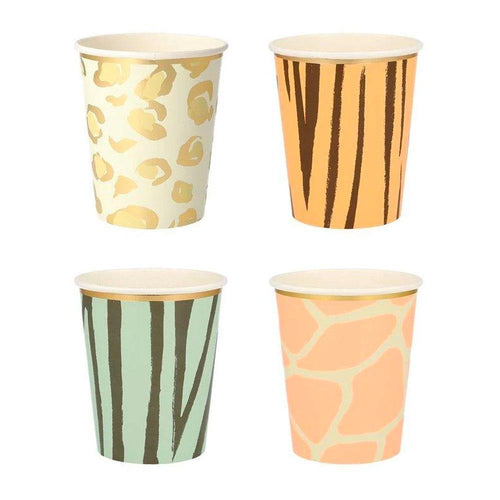 Safari Animal Cups - The Party Room