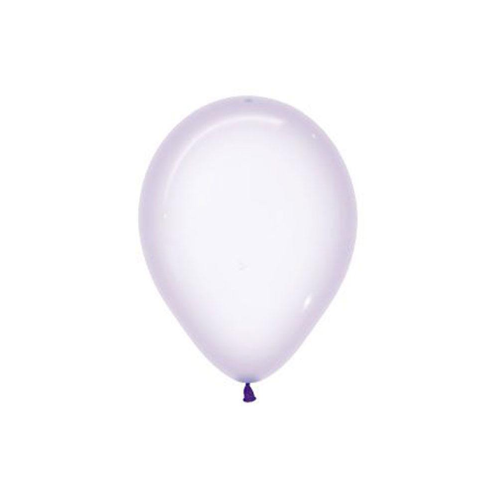 Small Crystal Pastel Lilac Balloons - The Party Room