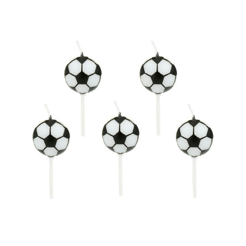 Soccer Ball Candles - The Party Room