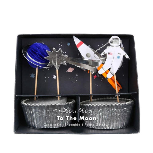 To The Moon Cupcake Kit - The Party Room
