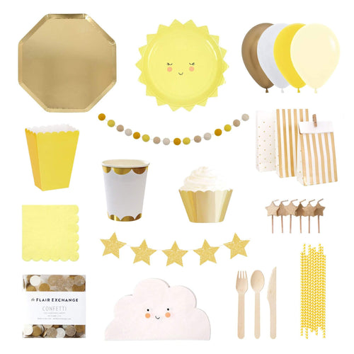 Sunshine Party Box - The Party Room