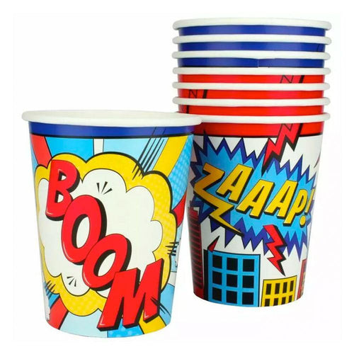 Super Hero Party Cups - The Party Room