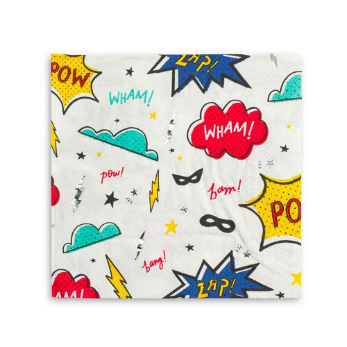 Superhero Napkins - The Party Room
