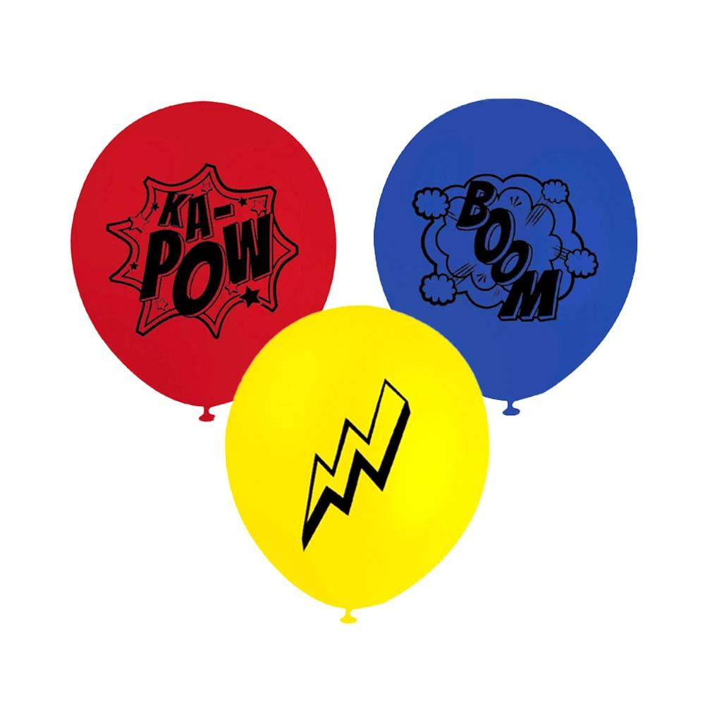 Superhero Balloons - The Party Room