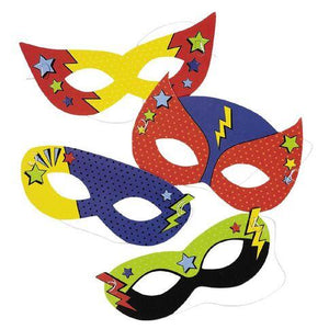 Superhero Masks - The Party Room