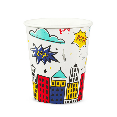 Superhero Cups - The Party Room
