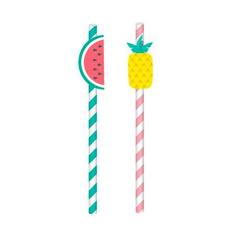 Tropical Fruit Straws - The Party Room