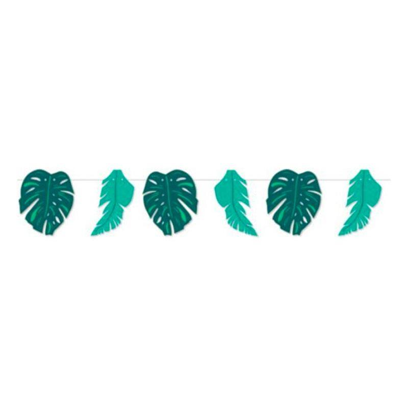 Tropical Leaf Bunting - The Party Room