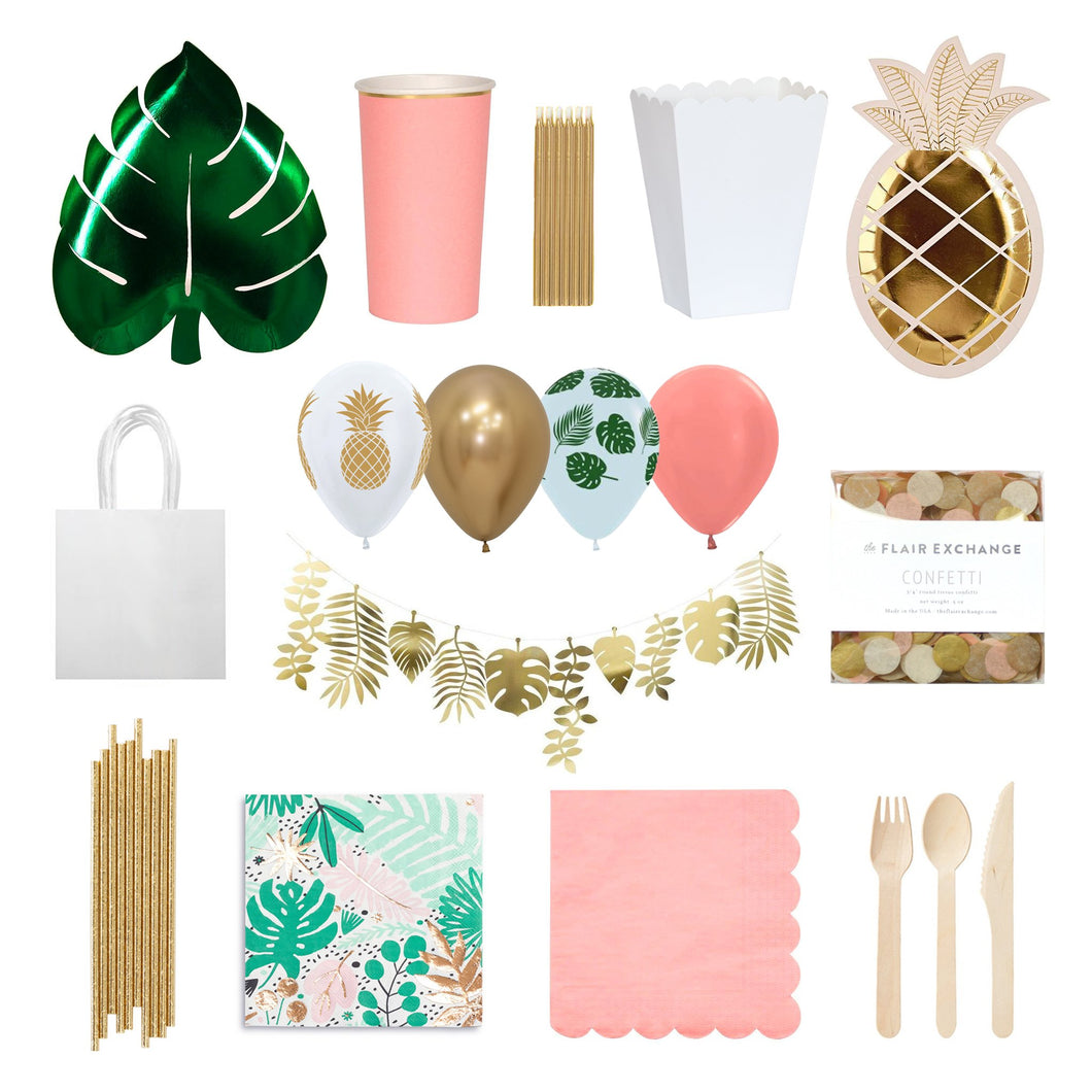 Tropical Party Box - The Party Room