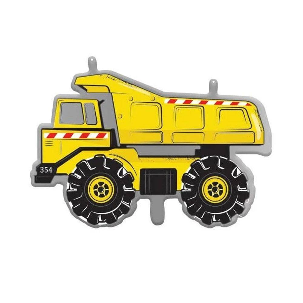 Dump Truck Foil Balloon - The Party Room