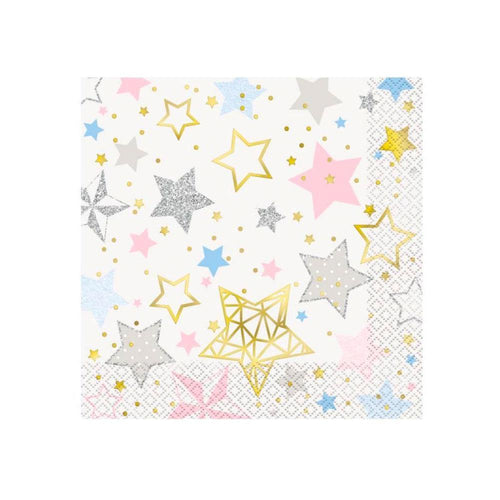 Twinkle Star Napkins - The Party Room