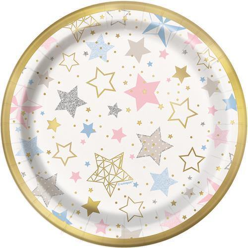 Twinkle Star Plates - The Party Room