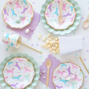 Magical Unicorn Cups - The Party Room