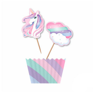 Unicorn Cupcake Toppers Kit