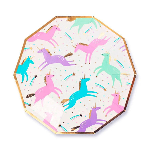 Magical Unicorn Plates - The Party Room