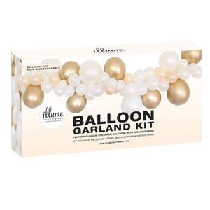 Balloon Garland Kit | Gold & White - The Party Room
