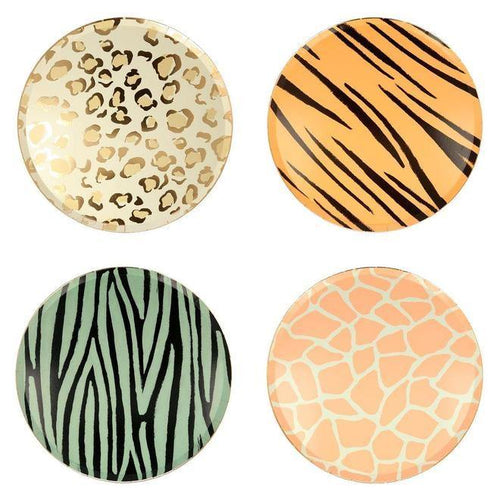 Safari Animal Plates - The Party Room