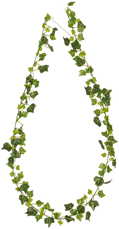 6' ENGLISH IVY GARLAND 147 LEAVES GREEN - 248