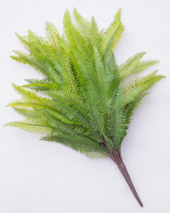 MOUNTAIN FERN BUSH OUTDOOR UV LARGE 50CM - 6060  (Box of 6)