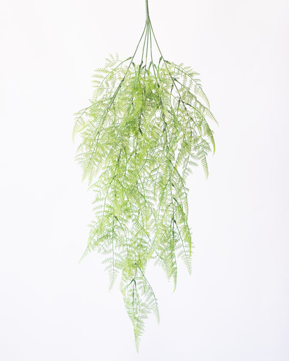 UV HANGING LACE FERN BUSH 82CM - 6408