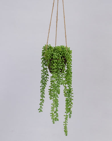 TEARDROP HANGING BASKET 50CM