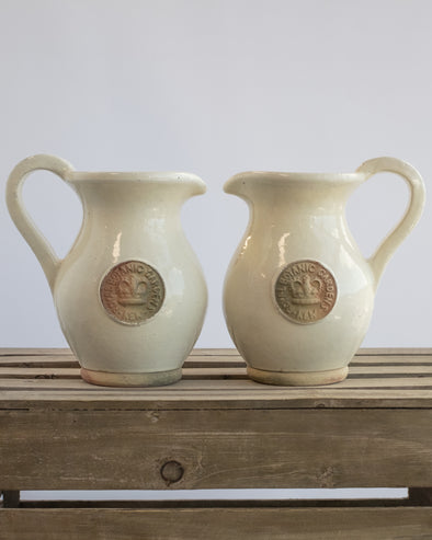 KEW JUG SET OF 2 IVORY - 6541IV