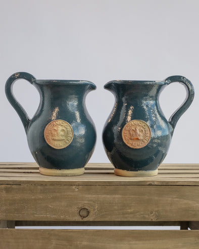 KEW JUG SET OF 2 NAVY BLUE - 6541NB