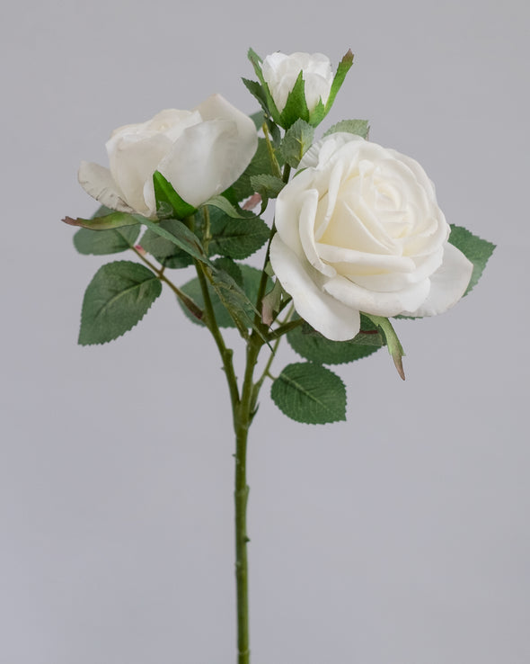 REAL TOUCH ROSE SPRYX3 WHITE 42CM