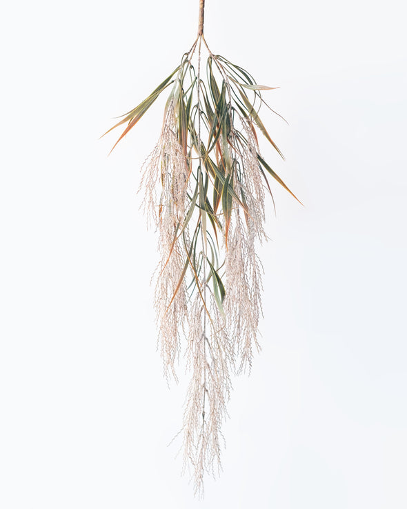 PAMPAS GRASS HANGING BUSH BROWN 84CM - 6770BR  (Box of 12)