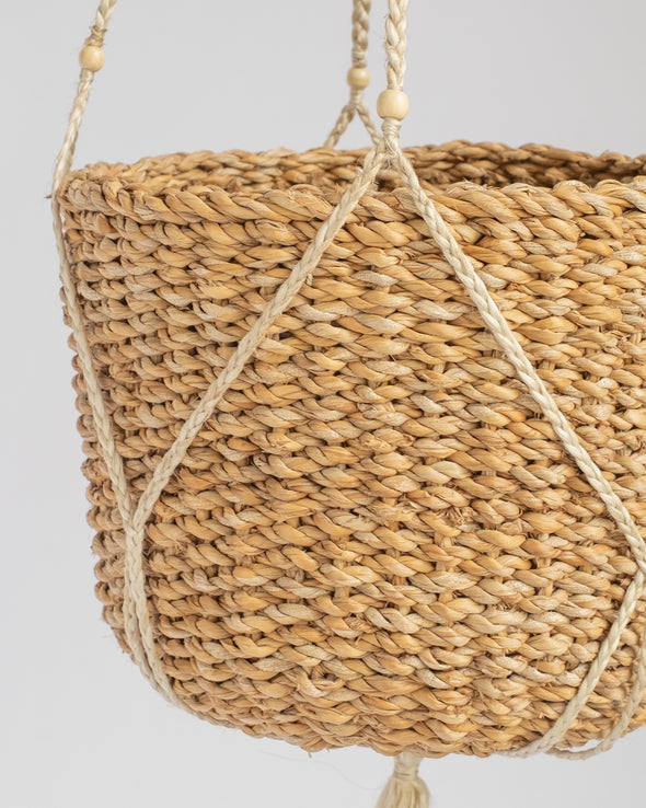 MACRAME PLANT HANGER CONICAL BALTI - 6777 (Box of 1)