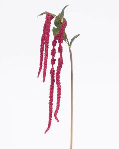 AMARANTHUS SPRAY BURGUNDY 122cm - 6831BU (Box of 12)