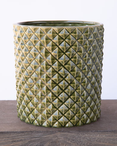 PINEAPPLE POT GREEN - 6843GR