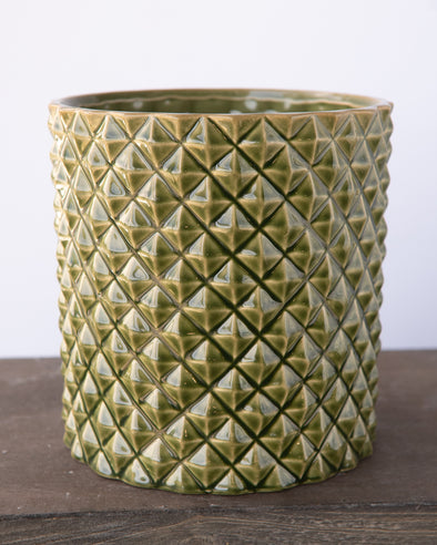 PINEAPPLE POT GREEN - 6844GR