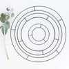 SMALL METAL WIRE WREATH 15CM - 6039 (Box of 12)