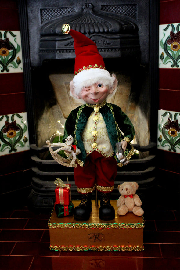 THE TOY MAKER ELF 57.5CM - XX7281